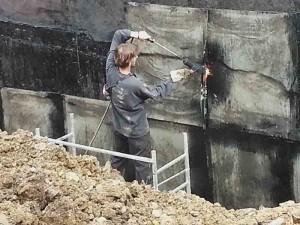 Хидроизолиране на външна стена