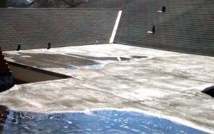 Грешно проектиране на покрива