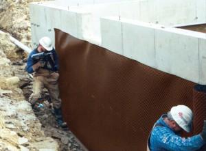 Хидроизолация на основи на сграда