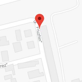 Нашият адрес на картата
