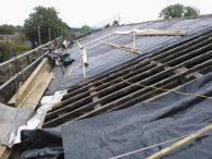 Ремонтирайте покрива преди зимата